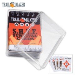 Trailblazer Survival Playing Cards