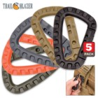 Tactical Carabiner 5-Pack Secure Your Gear