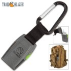 Jet Flame Windproof Lighter With Carabiner