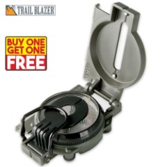Trailblazer Lensatic Marching Compass - BOGO