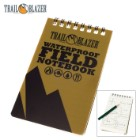 Trail Blazer Waterproof Field Notebook with Pencil