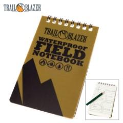 Trail Blazer Waterproof Field Notebook with Pencil