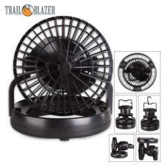 Trailblazer Camping Lantern With Fan