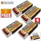 Trailblazer Waterproof Matches - Four-Pack - BOGO