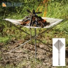 Trailblazer Portable Fire Hammock with Carrying Bag - Heat Resistant Stainless Steel - Collapsible