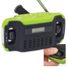 Sugar Creek Hand Cranked Radio/Alarm/Flashlight