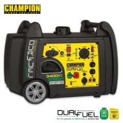 Champion 3100-3400W Inverter Dual Fuel