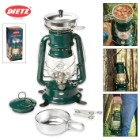 Dietz Millennium Lantern Cooker - Green with Chrome Trim