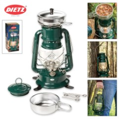 Dietz Millennium Lantern Cooker – Green with Chrome Trim