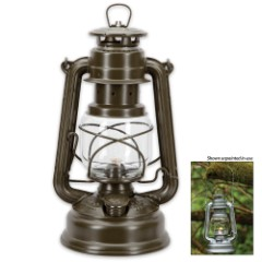 Feuerhand German Hurricane Lantern – Olive
