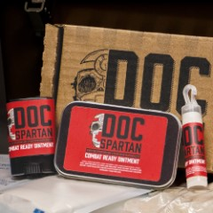 Doc Spartan Combat Ready Ointment - Three Pack, All-Natural Ingredients, First Aid Ointment, Soothes Wounds, Moisturizer