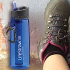 LifeStraw Go With Two-Stage Filtration - Two-Stage Filter, Long Lifetime Filter, Filters Out Majority Bacteria