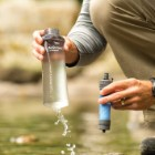 LifeStraw Flex With Water Bottle - Multi-Use Water Filter System, Long Lifetime Filter, Filters Out Bacteria And Heavy Metals, Ultralight