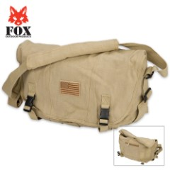 Fox Outdoor Products Retro Courier Shoulder Bag