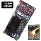 Live Fire Thin Red Line FireCord – 25 Ft.