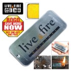 Live Fire Emergency Fire Starter BOGO