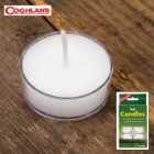 Coghlan's Tealight Candles - 6-Pack, 4-5 Hour Burn Time, Variety Of Uses