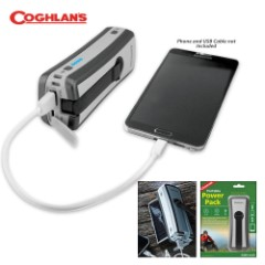Coghlan's Portable Power Pack - USB, Solar or Hand Crank