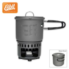 Esbit Solid Fuel Stove And Cook Set