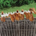 Smokin Grill Wing Rack