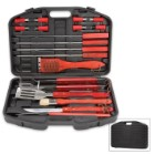 Smokin Grill 19-Piece Grilling Set