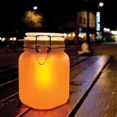 Finelife Solar Jar Light