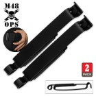 M48 OPS Black Steel ALICE Clips - Set of Two