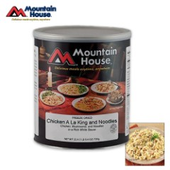 Mountain House Chicken A La King Can 10 Servings