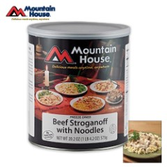 Mountain House Beef Stroganoff With Noodles Can 10 Servings