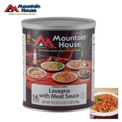 Mountain House Lasagna With Meat Sauce Can 10 Servings
