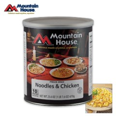 Mountain House Noodles And Chicken Can 10 Servings