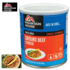 Mountain House Ground Beef Can 22 Servings