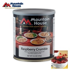 Mountain House Raspberry Crumble Can 12 Servings