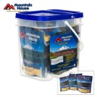 Mountain House Just In case Classic 12 Piece Entrée Bucket 29 Servings