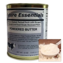 Future Essentials 12-oz. Canned Powdered Butter