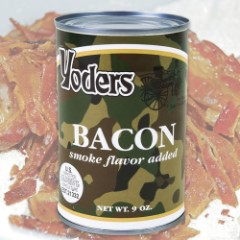 Yoders Survival Bacon – 40 To 50 Slices Per Can