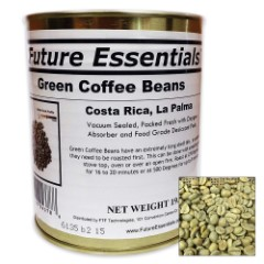 Future Essentials 19 1/5-oz Canned Organic Green Coffee Beans