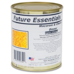Future Essentials Macaroni And Cheese – Six Servings, 10+ Years Shelf Life – 14 Ounces