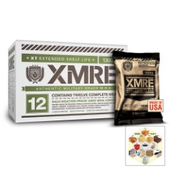 XMRE 1300XT Ready Meals With Heater