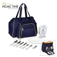 Toluca Cooler Tote – Deluxe Picnic Service For Two