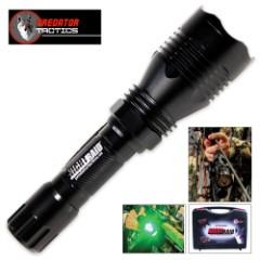 Predator Tactics Night Raid Flashlight Kit – Green