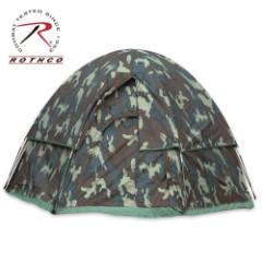 Rothco 3 Man Dome Tent Woodland