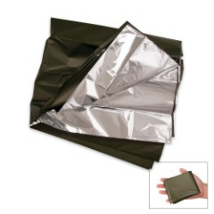 G.I. Type O.D. Lightweight Combat Casualty Blanket