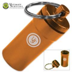 UST B.A.S.E. Case 0.5 Aluminum Storage Case Orange