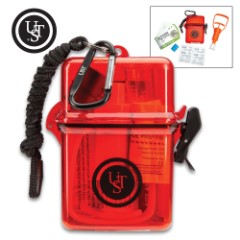 Live And Learn Bite And Sting Kit - Illustrated Water-Resistant Reference Cards, Watertight Case, First Aid Supplies