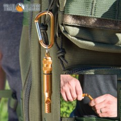 Emergency Whistle With Carabiner