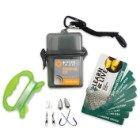 UST Learn and Live Survival Fishing Kit with Reference Guide