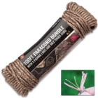 Survivor Series 550-LB Seven-Strand Paracord 100' Bundle - Two Fishing Lines, Wax Tinder Cord, Extremely Strong And Durable