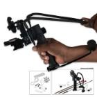 Ultimate Survival Archery Slingshot With Laser Sight