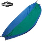 Newport 2-Person Packable Traveler Nylon Hammock Blue